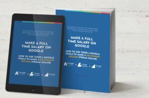 make a full time salary on Google